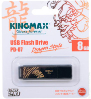 USB накопитель 8GB Kingmax PD-07 Tiger Black