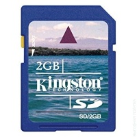 Карта памяти SD Kingston SD/2Gb Flash Memory Card